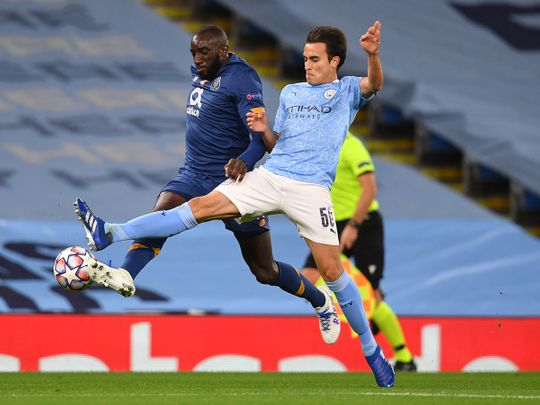 Manchester City's Eric Garcia impressed against Porto