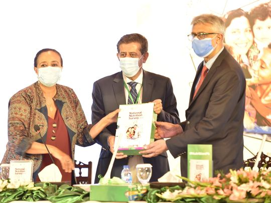 Pakistan children stunted report UNICEF