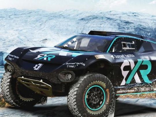Rosberg's RXR is the ninth team to enter Extreme E
