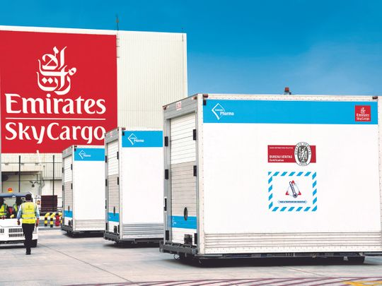 Stock Emirates sky cargo