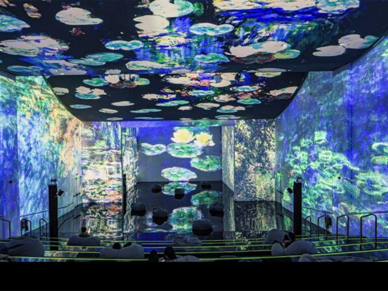Van Gogh paintings come alive in Dubai Theatre of Digital Art