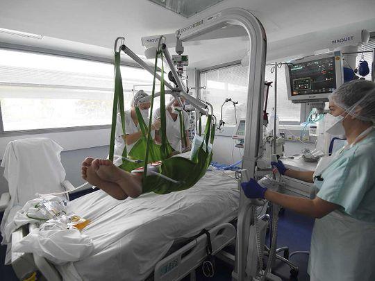 France hospital covid