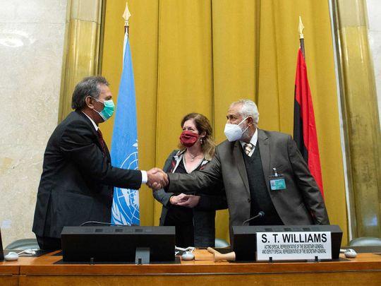 Libya UN treaty peace ceasefire