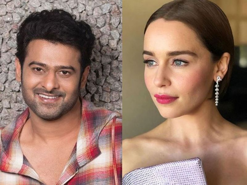 Prabhas and Emilia