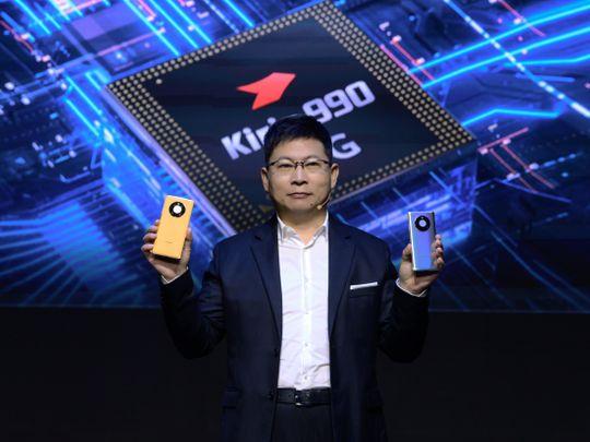 Richard Yu Huawei Mate 40