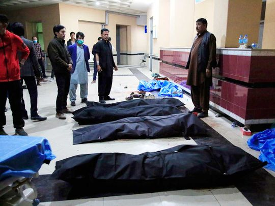 Afghan suicide blast
