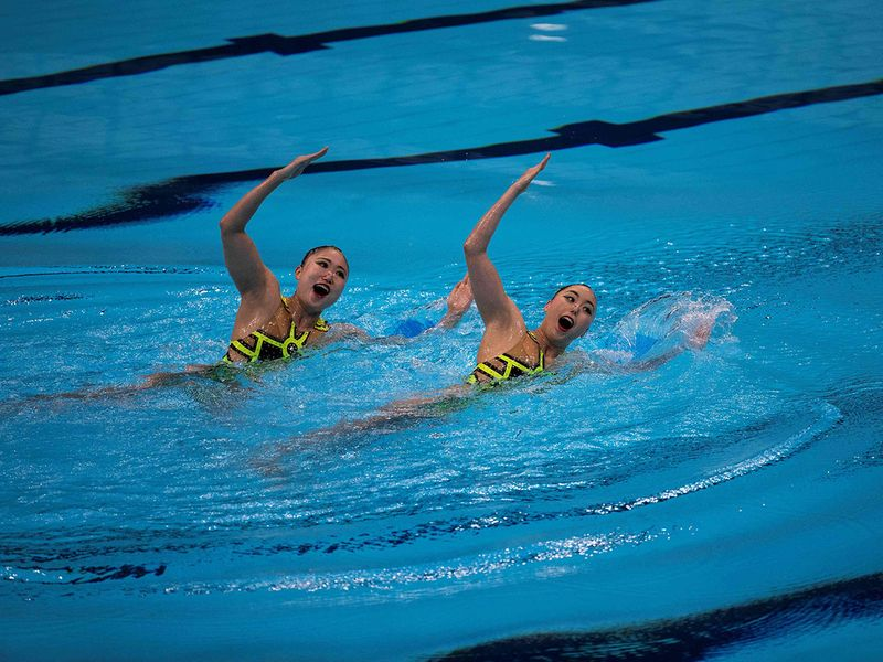 Tokyo Olympic aquatics centre