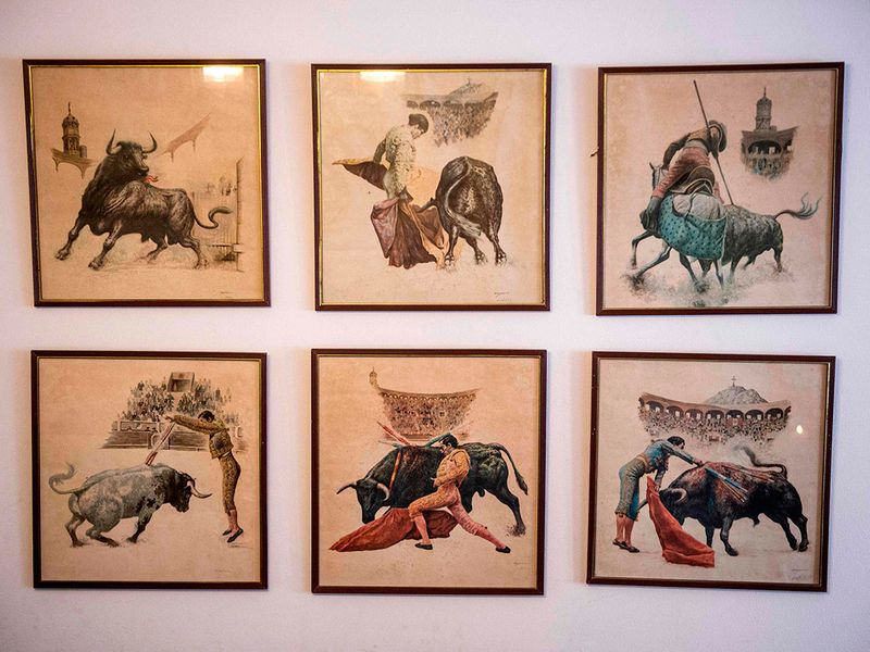 bullfighting gallery