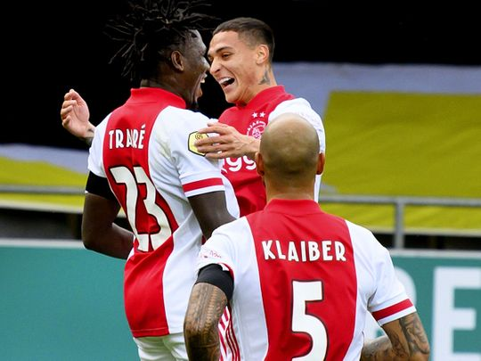 Ajax thrashed VVV-Venlo 13-0