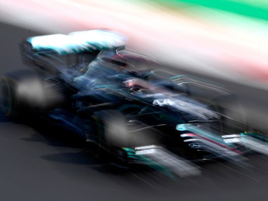 Lewis Hamilton took pole in Portugal