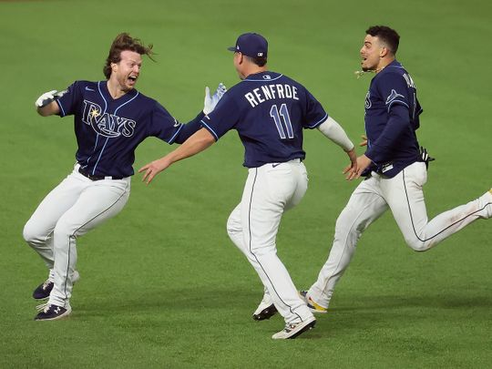 Tampa Bay Rays levelled the World Series at 2-2.