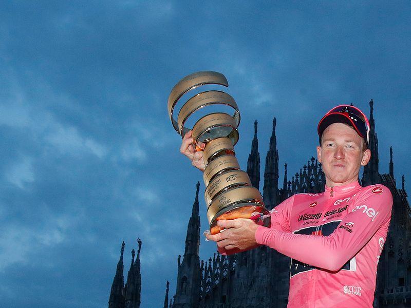 Giro d'Italia winner Tao Geoghegan Hart