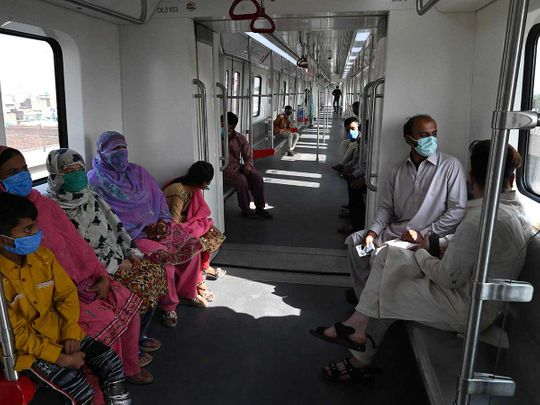 Lahore Metro line Pakistan