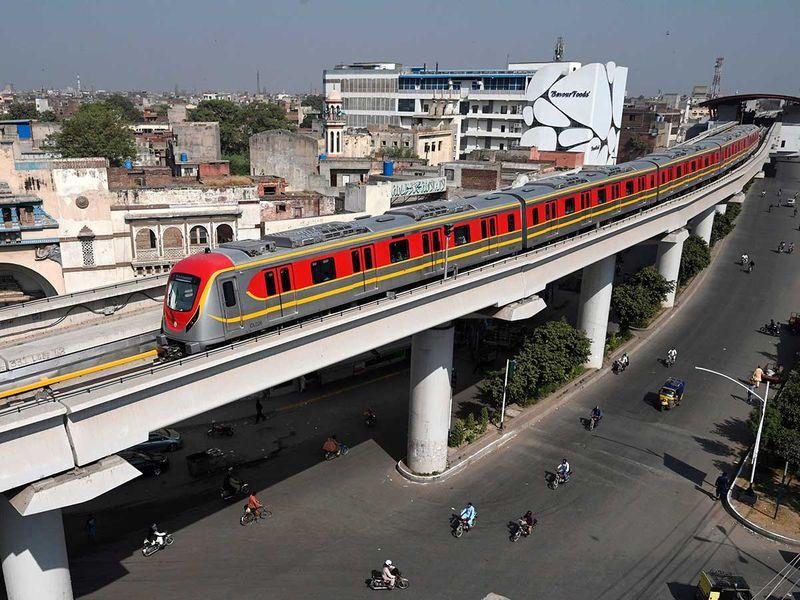 Orange Metro Lahore Pakistan