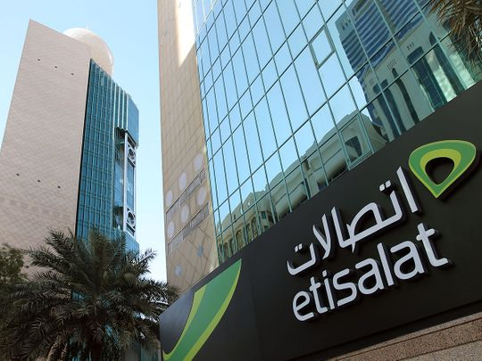 Stock Etisalat latest 2020