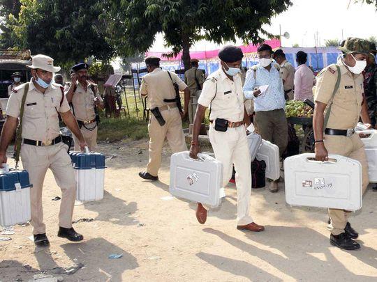 BIhar voting security