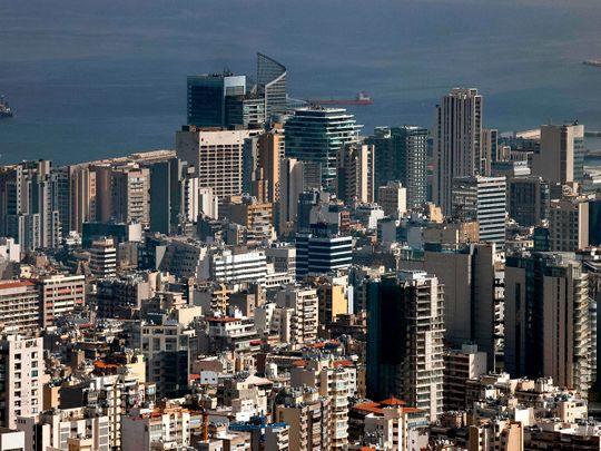 STOCK BEIRUT LEBANON SKYLINE5