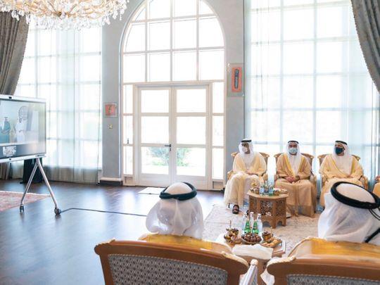 Sheikh Mohammed attends wedding reception