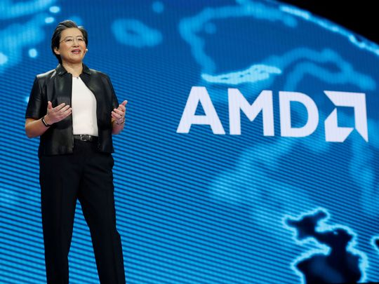 Lisa Su, president and CEO of AMD