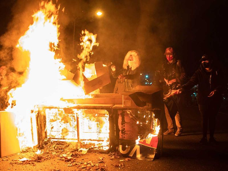 Philadelphia protesters