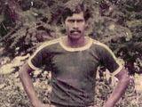 Abdul Salam during his days as an active footballer.