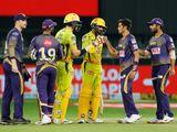Chennai and Kolkata players