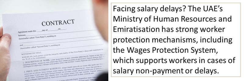 Facing salary delays? The UAE's Ministry of Human Resources and Emiratisation (MOHRE) has strong rules and regulations
