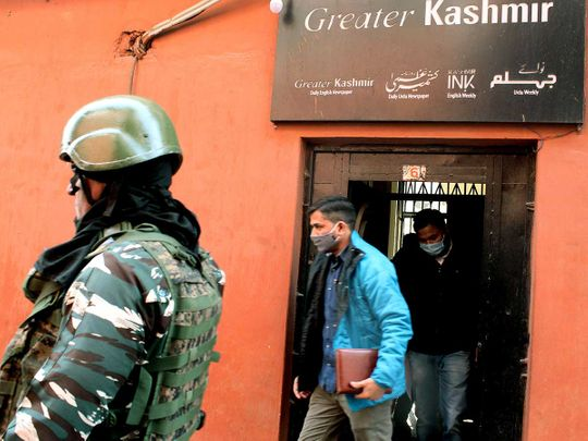 NIA raid Kashmir