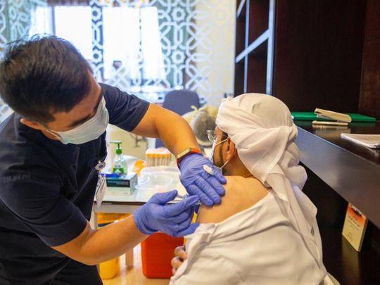 UAE Spritzung 100 Prozent