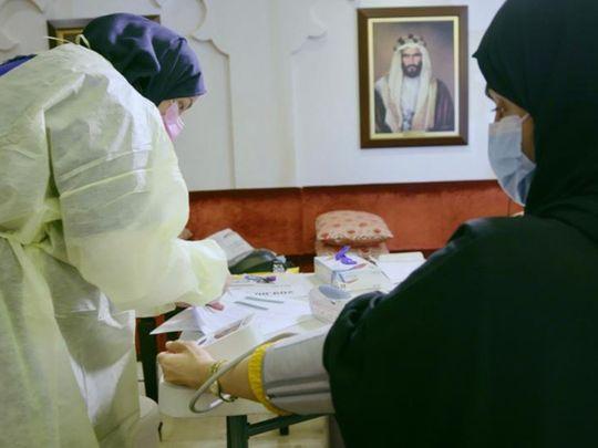 Stock Covid Vaccine UAE