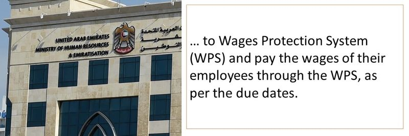 Under WPS employees need to be paid salaries on their due dates
