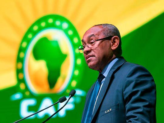 CAF chief Ahmad Ahmad