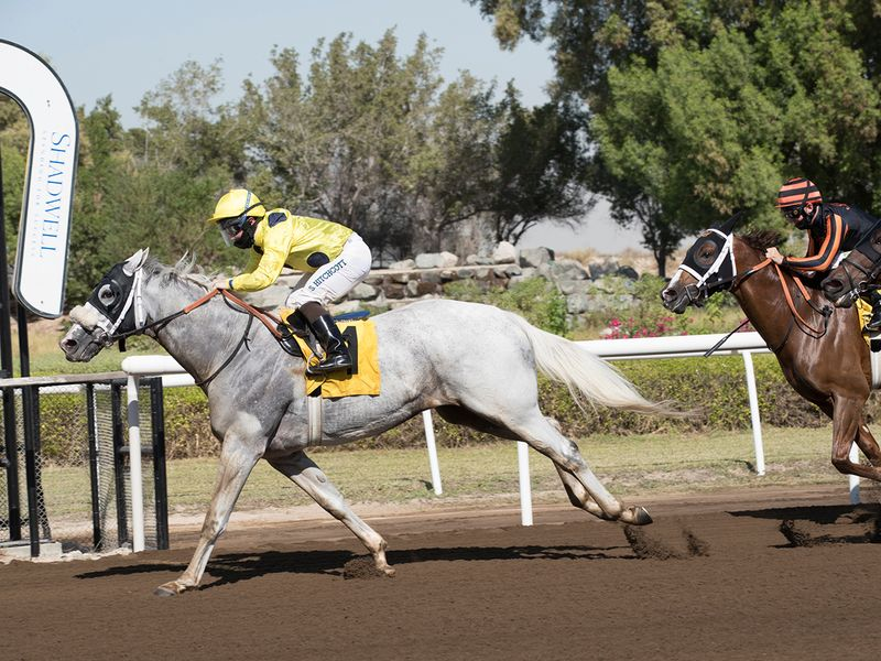 Guernsey got things rolling for Doug Watson on the new Jebel Ali surface.