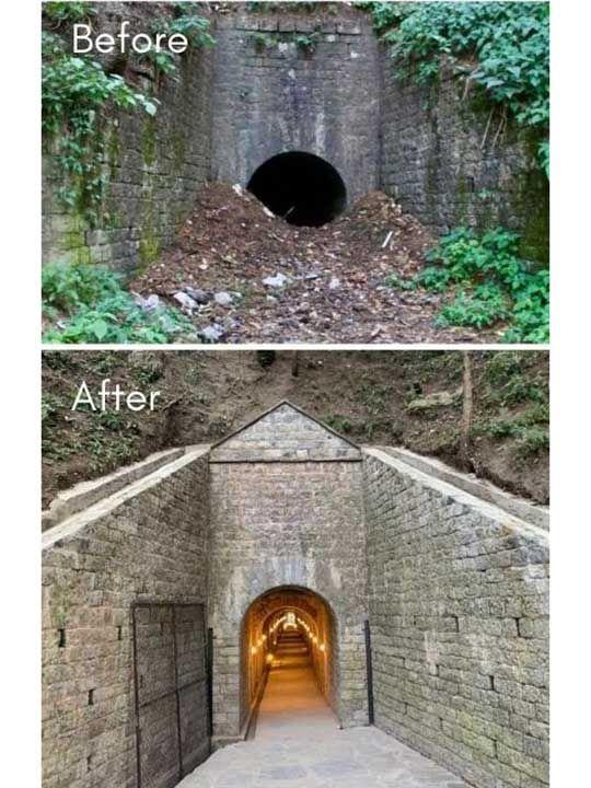 Moto tunnel Pakistan