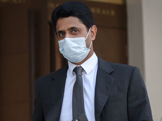 Qatar's Nasser Al Khelaifi, the president of Paris St-Germain, has been acquitted