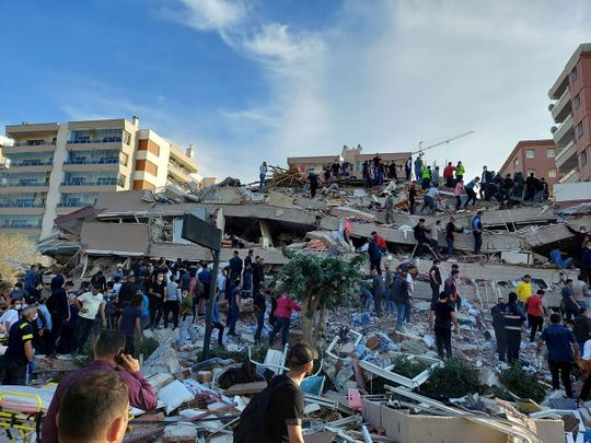 Greece, Turkey rattled by massive earthquake - live updates