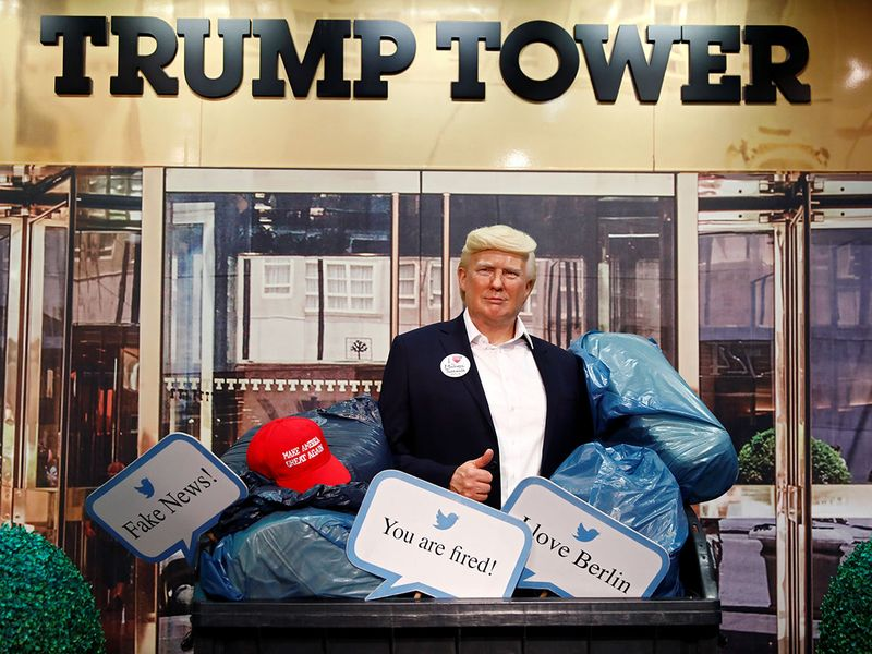 Tussauds Trump gallery