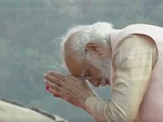 Narendra Modi at Statue of Unity