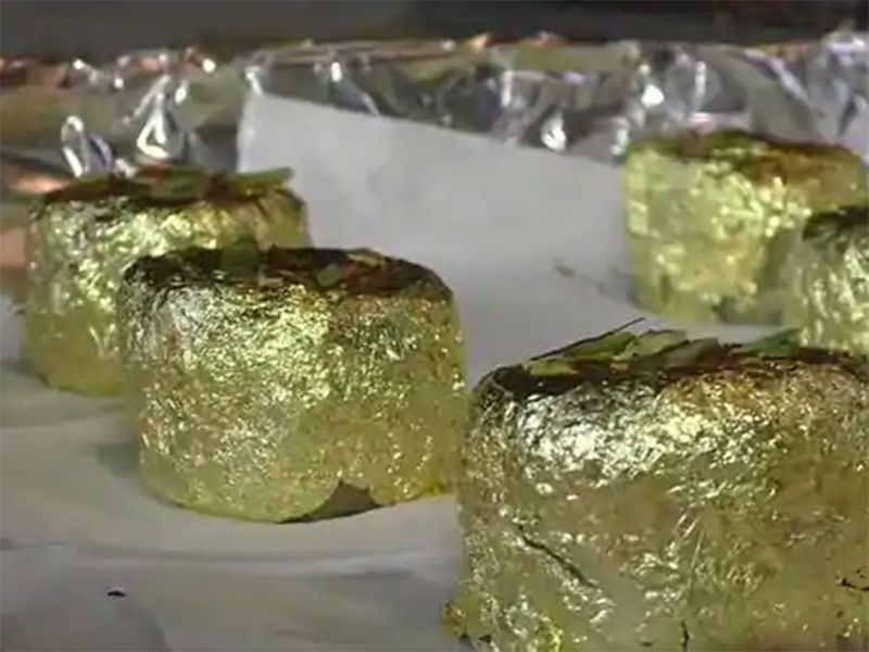 Surat-based sweet shop launches gold sweet 'Gold Ghari'