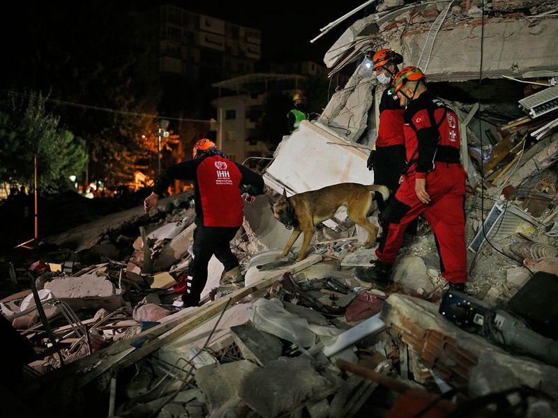 Turkey quake aftermath