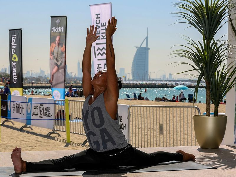 Dubai Fitness Challenge DFC Kite BEach