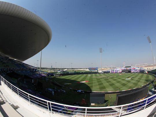 General view of the Sheikh Zayed Stadium, Abu Dhabi.