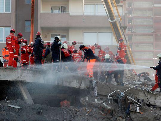 Rescue operations continue Turkey