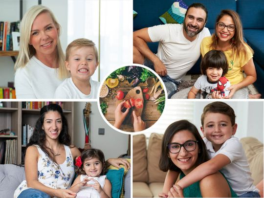 UAE parents discuss veganism and children