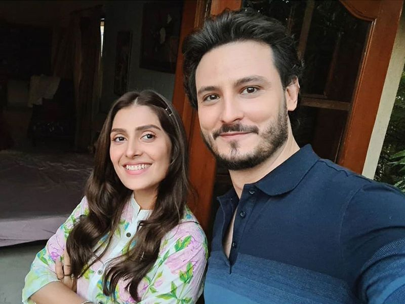 Ayeza Khan and Osman Butt