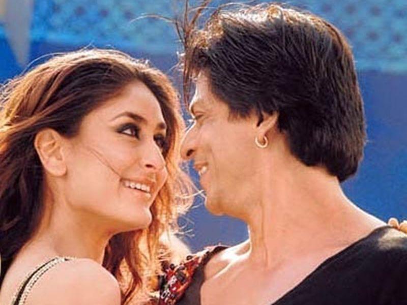 Kareena Kapoor and Shahrukh Khan