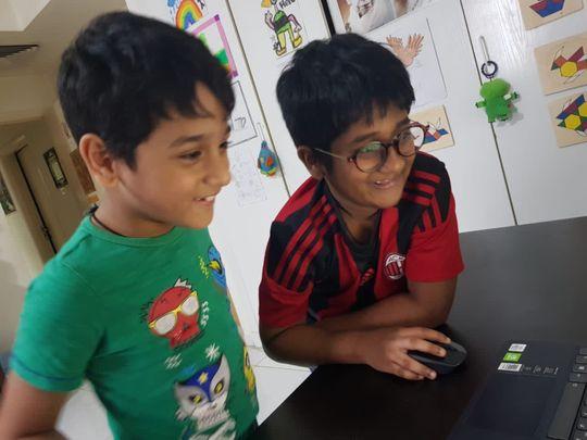 NAT  Indian brothers raghav and madhav1-1604302914315