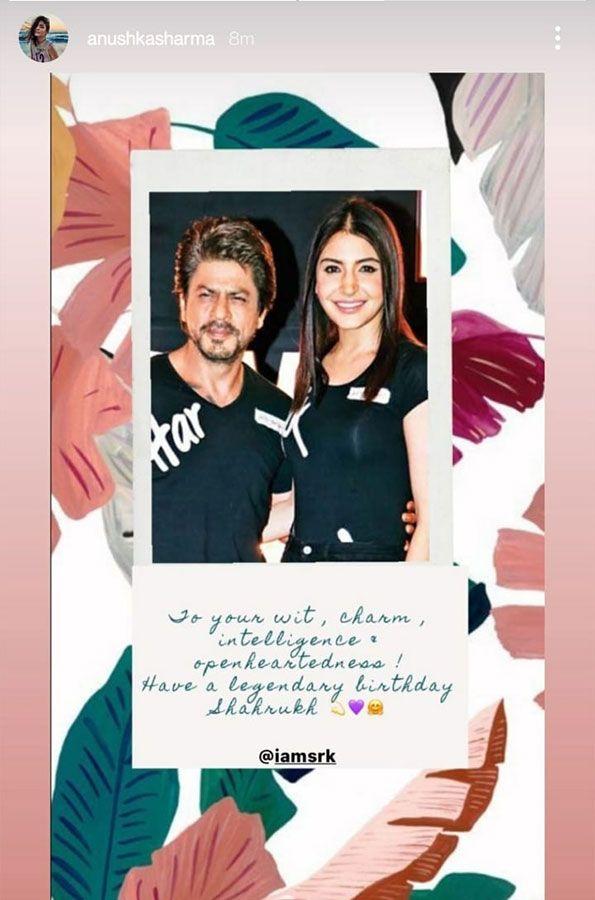Shahrukh and Anushka