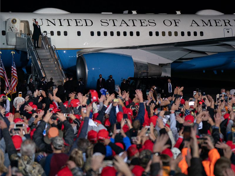 US election 2020: Trump and Biden in final campaign run and preparations for polls   News-photos – Gulf News