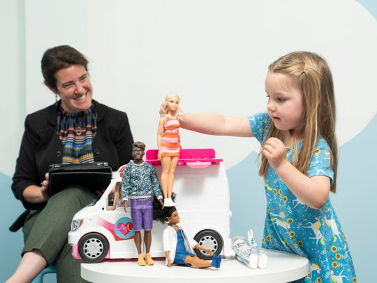 barbie research dolls empathy
